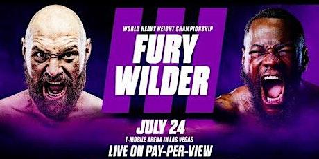 Fury vs Wilder 3 Watch Party tickets