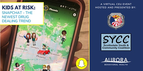 Kids At Risk: Snapchat - The Newest Drug Dealing Trend tickets