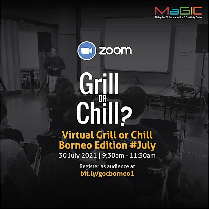 Virtual Grill or Chill Borneo Edition #July 2021 image
