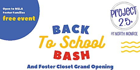 Project 2.5+ : Back to School Bash tickets