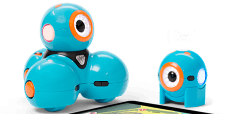 Explore robotics with Dot and Dash tickets