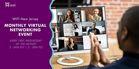 WITI New Jersey Monthly Virtual Networking Event tickets