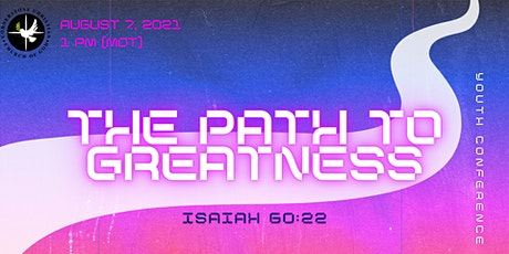 CCCG presents: The Path to Greatness - A Youth Conference tickets