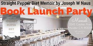 Tomorrow night!! Straight Pepper Diet Memoir Book...