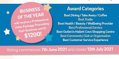 HCBA 2021 Business Awards Presentation Evening tickets