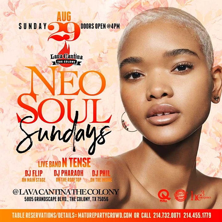 NEO SOUL SUNDAYS feat N'TENSE THE BAND image