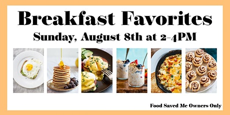 Saladmaster Owners ONLY: Breakfast Favorites tickets
