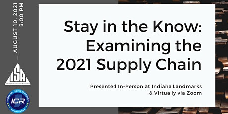 Stay in the Know: Examining the 2021 Supply Chain tickets