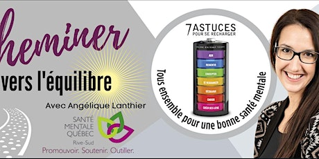 Groupe Facebook Cheminer vers l'équilibre tickets