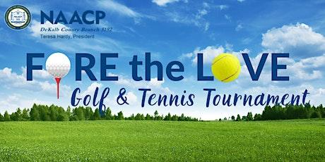 NAACP DeKalb  - 2021 Golf & Tennis Tournament tickets