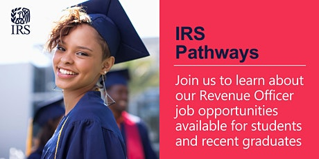 IRS Pathways Virtual Information Session about the Revenue Officer position tickets
