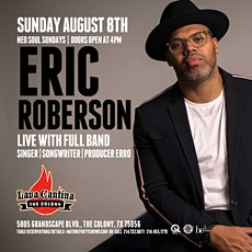 NEO SOUL SUNDAYS feat ERIC ROBERSON LIVE! tickets