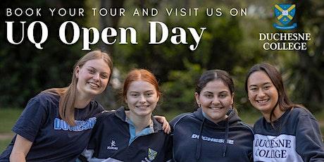 Duchesne College Tour on UQ Open Day tickets