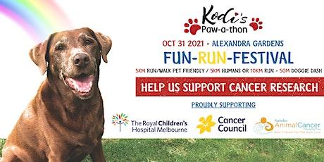 Kodi Paw-a-Thon Fun Run Festival tickets
