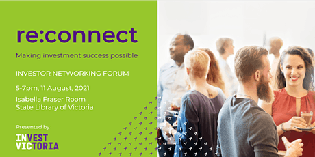 re:connect - Investor Networking Forum tickets