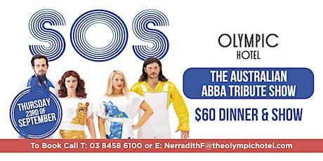 SOS The Australian ABBA Tribute Show tickets