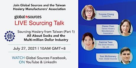 Global Sources: Sourcing Hosiery from Taiwan (Part1) biglietti