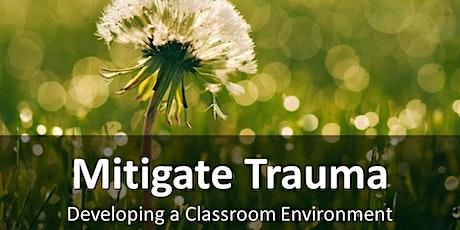 Develop a Classroom Environment to Mitigate Trauma tickets