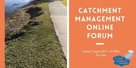 Catchment Management findings and recommendations of the Expert Panel tickets