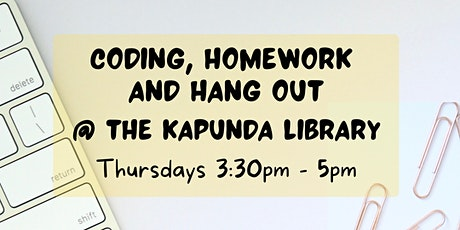 Coding, Homework and Hang Out @ The Kapunda Library tickets