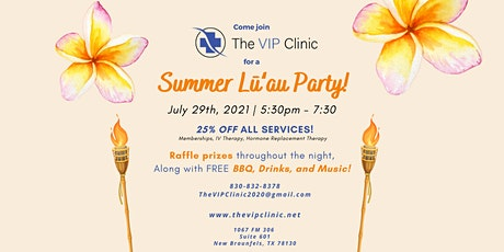 Summer Lu'au Giveaway Party! tickets