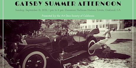 Gatsby Summer Afternoon 2021 tickets
