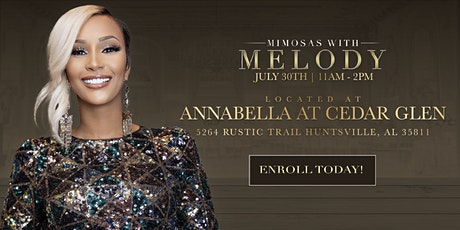Mimosas with Melody tickets