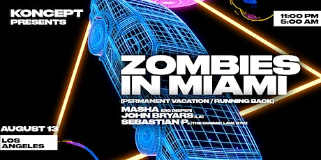Koncept Presents: Zombies in Miami tickets