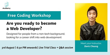 Free Demo Workshop: Are you ready to be a Web Developer? tickets