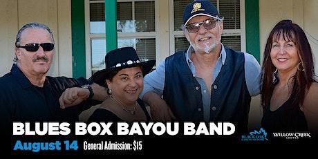 Blues Box Bayou tickets