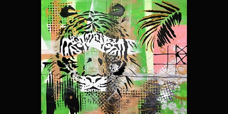 Tiger Paint and Sip Party  28.8.21 tickets