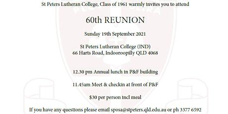 Class of '61 Reunion Lunch tickets
