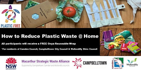 How to Reduce Plastic Waste @ Home tickets