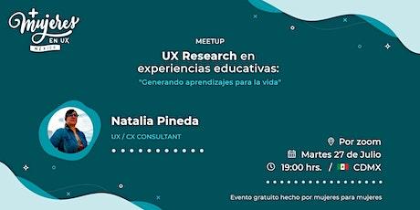 +Mujeres en UX México Reunión Virtual  julio 2021 boletos