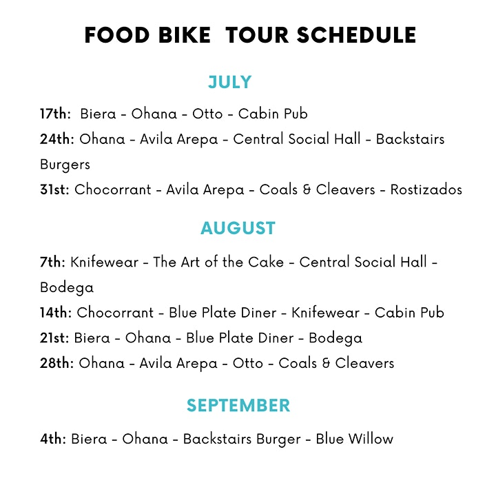 Edmonton's 5th Annual Food Bike Tour image