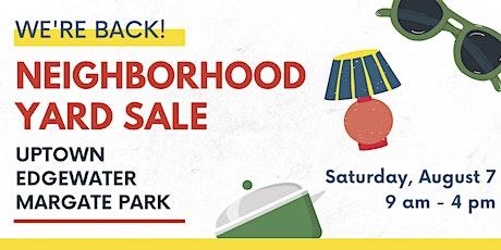 Annual Carmen Winona Block Club Neighborhood Yard Sale - We're Back! tickets