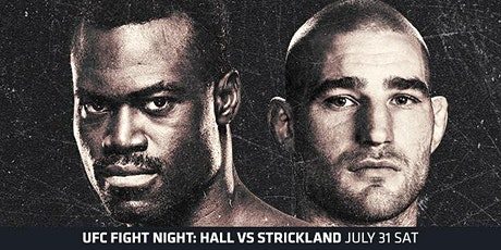 UFC Fight Night: Hall VS Strickland Watch Party tickets