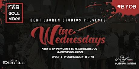 Wine Wednesdays Paint & Sip tickets