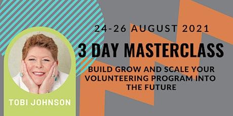 Tobi Johnson Volunteer Management Resilience and Transformation Masterclass tickets