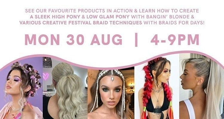 Bangin' Blonde & Braids For Days Look & Learn Masterclass image