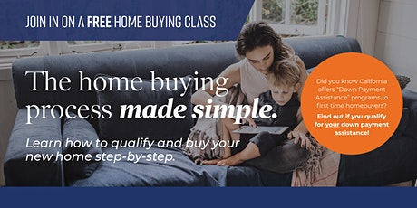"""FREE """"LIVE- IN PERSON """"New Home Buyer Workshop tickets"""