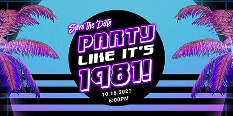 pARTy Like It's 1981! tickets