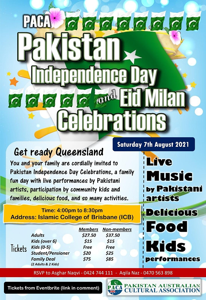 Pakistan Independence Day Celebrations and Eid Dinner image