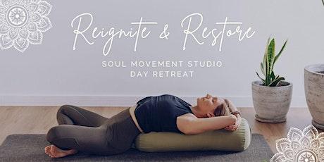 Reignite & Restore - Soul Movement Studio Day Retreat tickets