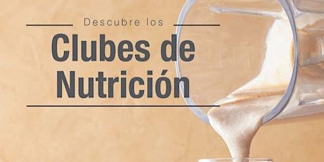 MASTER DE CLUBS DE NUTRICION  AGOSTO 2021 tickets