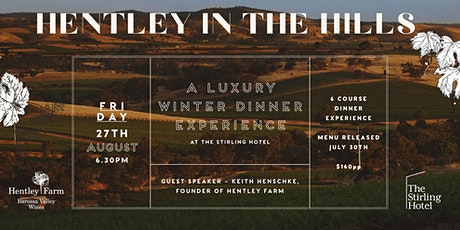 Hentley in the Hills at The Stirling Hotel tickets