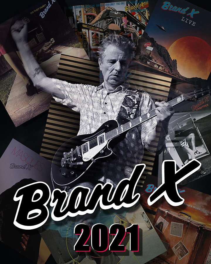 Brand X:  Jazz-Rock Fusion Legends Live in Concert image