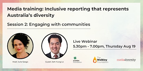 Media Training: Engaging with communities tickets