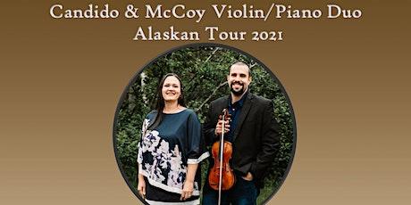 Candido & McCoy, Violin and Piano Duo tickets