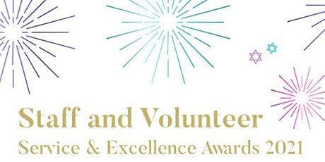 Jewish Care Staff and Volunteer Service & Excellence Awards 2021 tickets